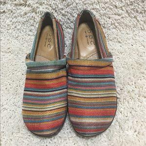 BOC Striped Comfort Shoes